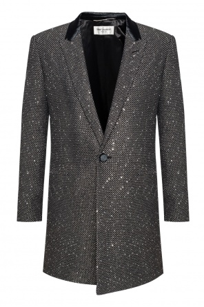 Sequinned coat od Saint Laurent
