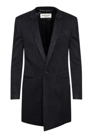 Striped coat od Saint Laurent