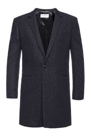 Coat with lurex finish od Saint Laurent
