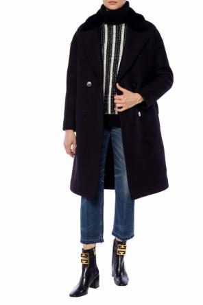 Double-breasted coat with notch lapels od Saint Laurent