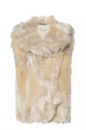 Fur vest od Stella McCartney
