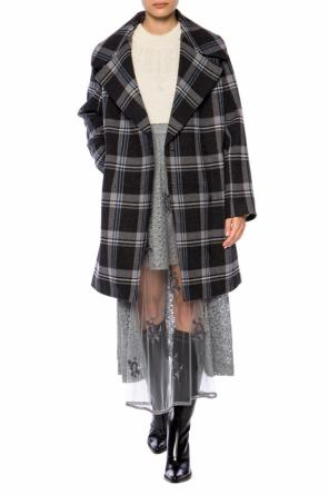 Checkered coat od Stella McCartney