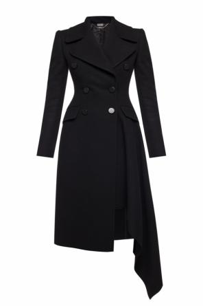 Double-breasted coat od Alexander McQueen