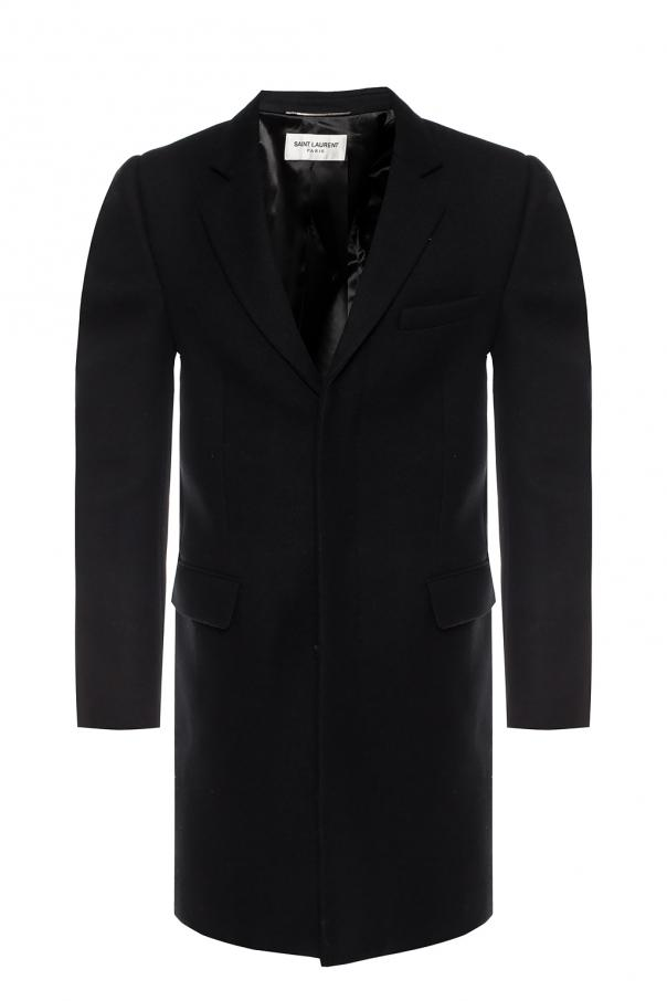 Saint Laurent Coat with notch lapels