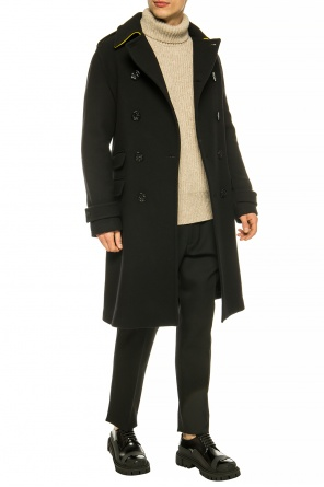 Double-breasted coat with epaulettes od Stella McCartney