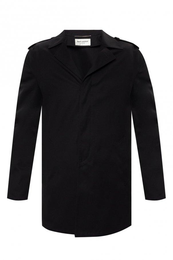 Saint Laurent Notch lapel coat