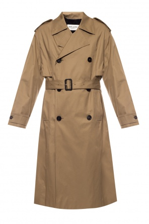 Double-breasted trench coat od Saint Laurent