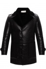 Saint Laurent Coat with fur lining