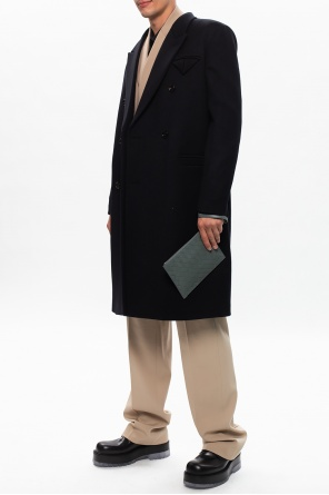 Double-breasted coat od Bottega Veneta