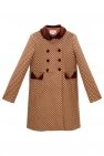 Gucci Kids Wool coat with logo