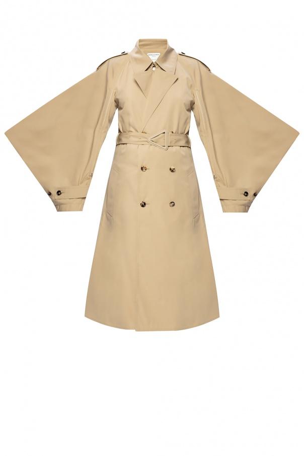 Bottega Veneta Trench coat with decorative sleeves
