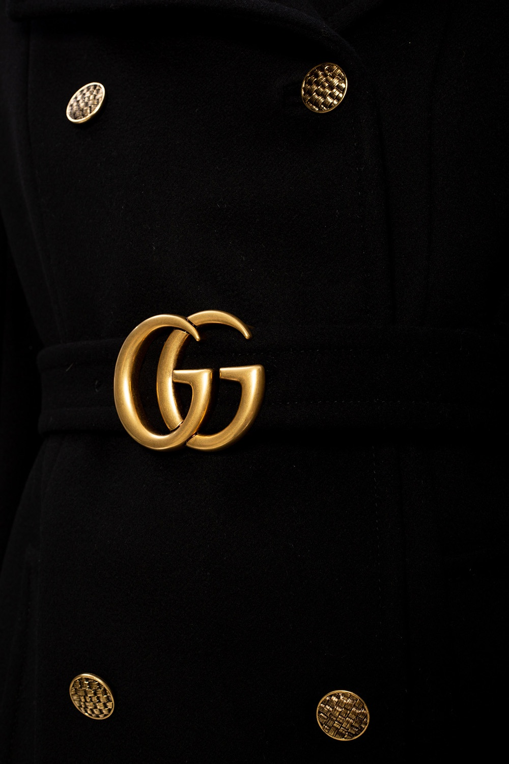 Gucci Wool coat with notch lapels