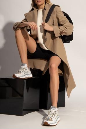 Asymmetrical coat od Alexander McQueen