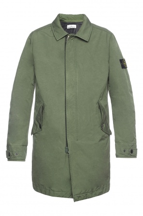 Single-vented coat od Stone Island
