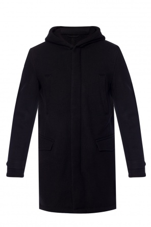 Hooded coat od Emporio Armani