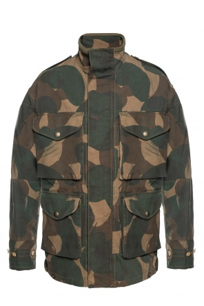 Camo jacket od Burberry