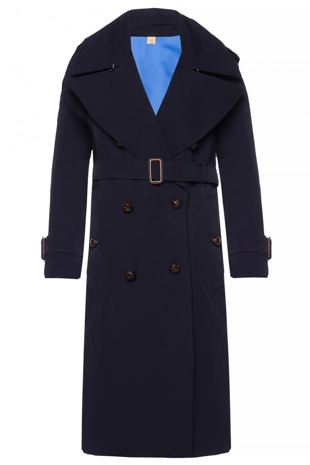 Burberry Double-breasted insulated coat