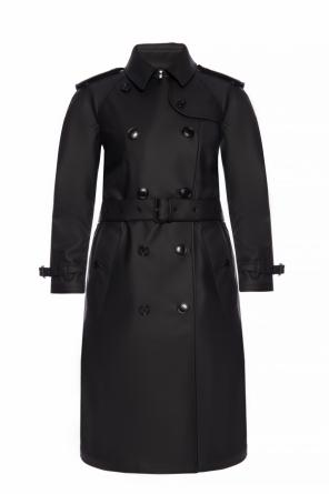 'curradine' branded trench coat od Burberry