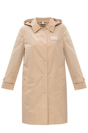 Trench coat with removable hood od Burberry