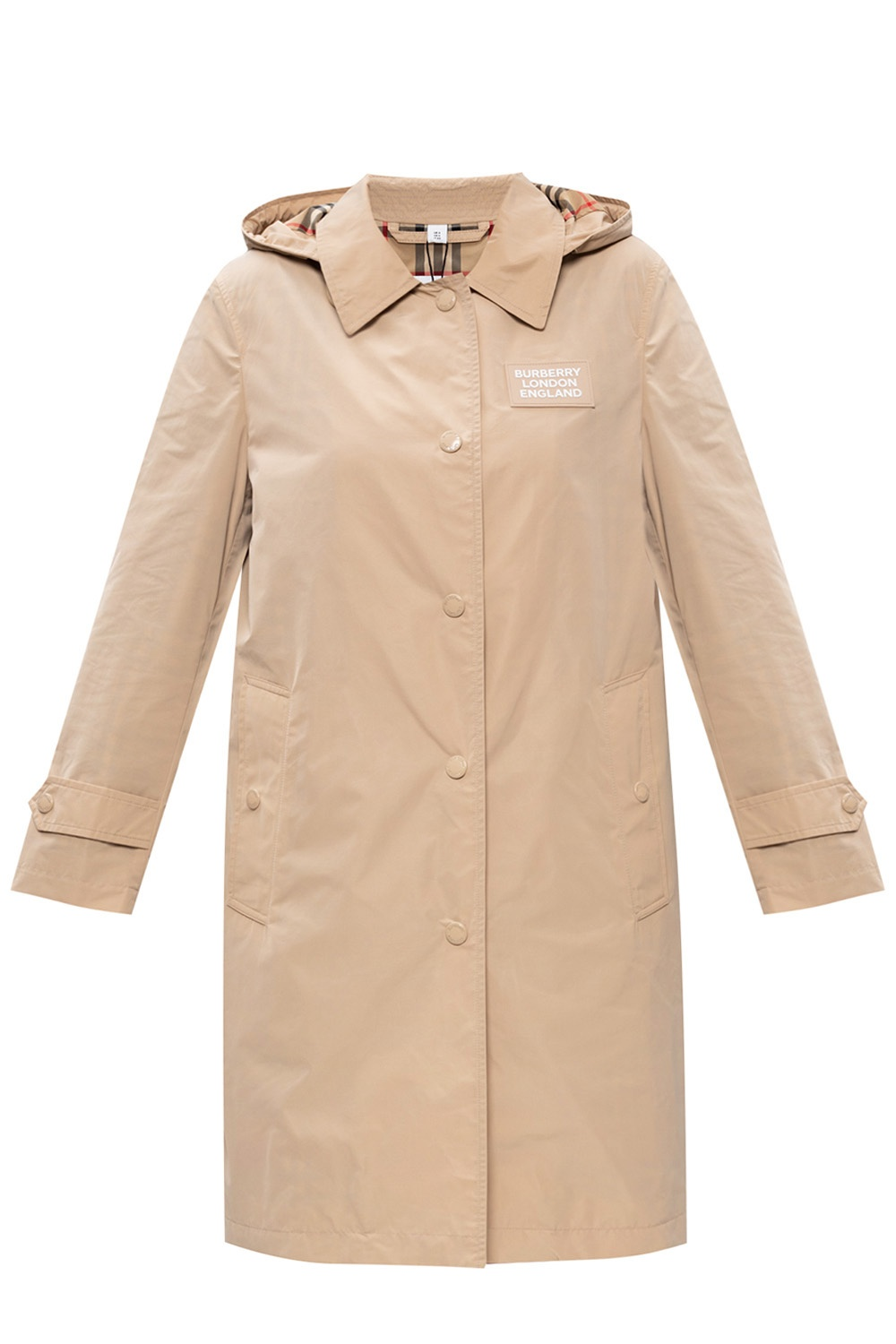 Burberry Trench coat with removable hood
