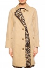 Leopard-printed coat od Burberry