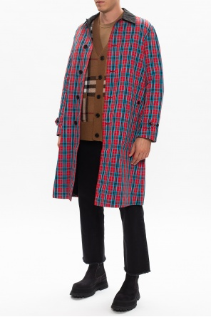 Checked coat od Burberry
