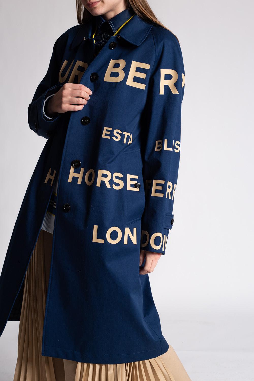 Burberry Coat with logo