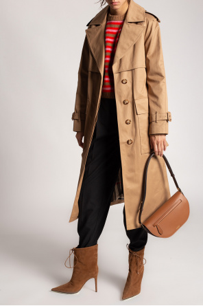 Belted coat od Burberry