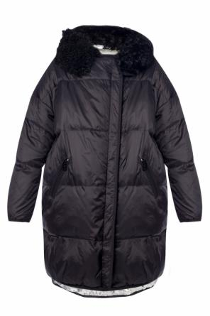 Hooded quilted jacket od Yves Salomon