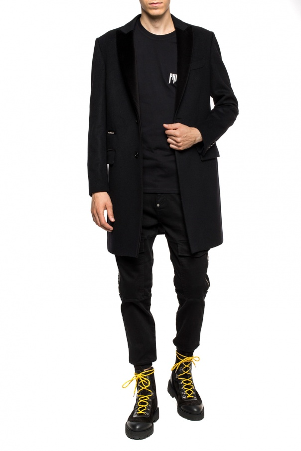 Coat with peak lapels od Philipp Plein