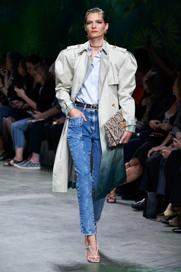 Tie-dye coat od Versace