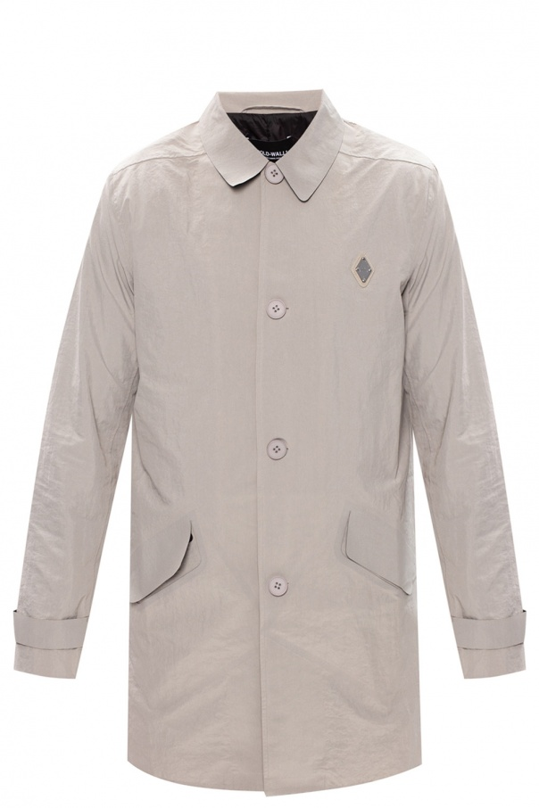 A Cold Wall Coat with logo
