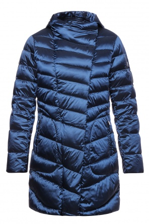 Hooded quilted coat od Diane Von Furstenberg