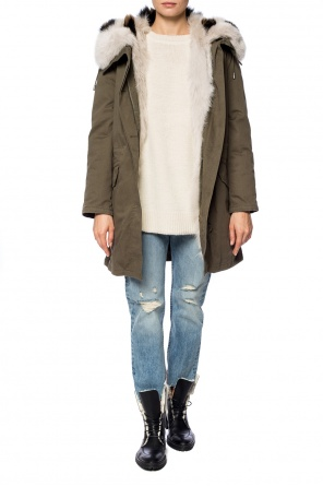 Drawstring down jacket od Yves Salomon
