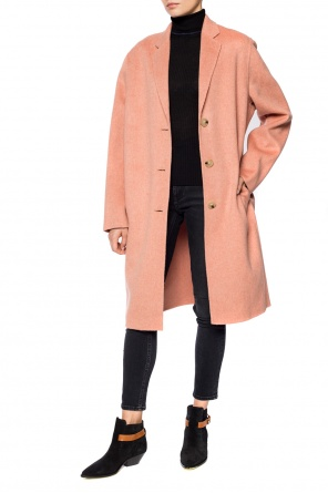 Wool coat with pockets od Acne