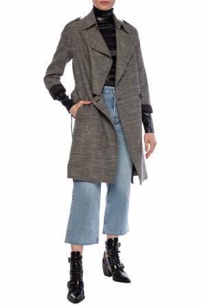0f5f1a6b73 Płaszcz ze wzorem w kratę  bexley  od AllSaints ...