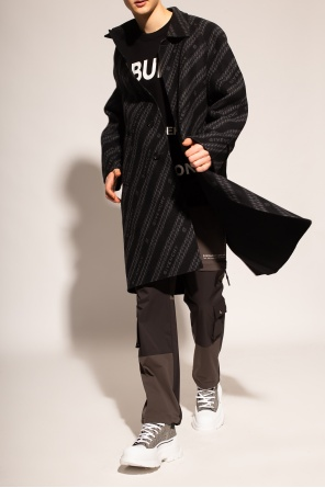 Reversible coat with logo od Givenchy