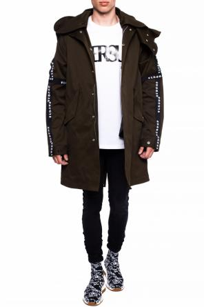 Parka with detachable hood od Versace Versus