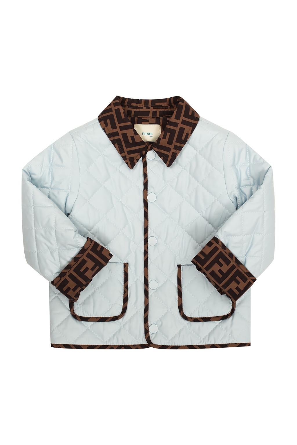 Fendi Kids Quilted jacket