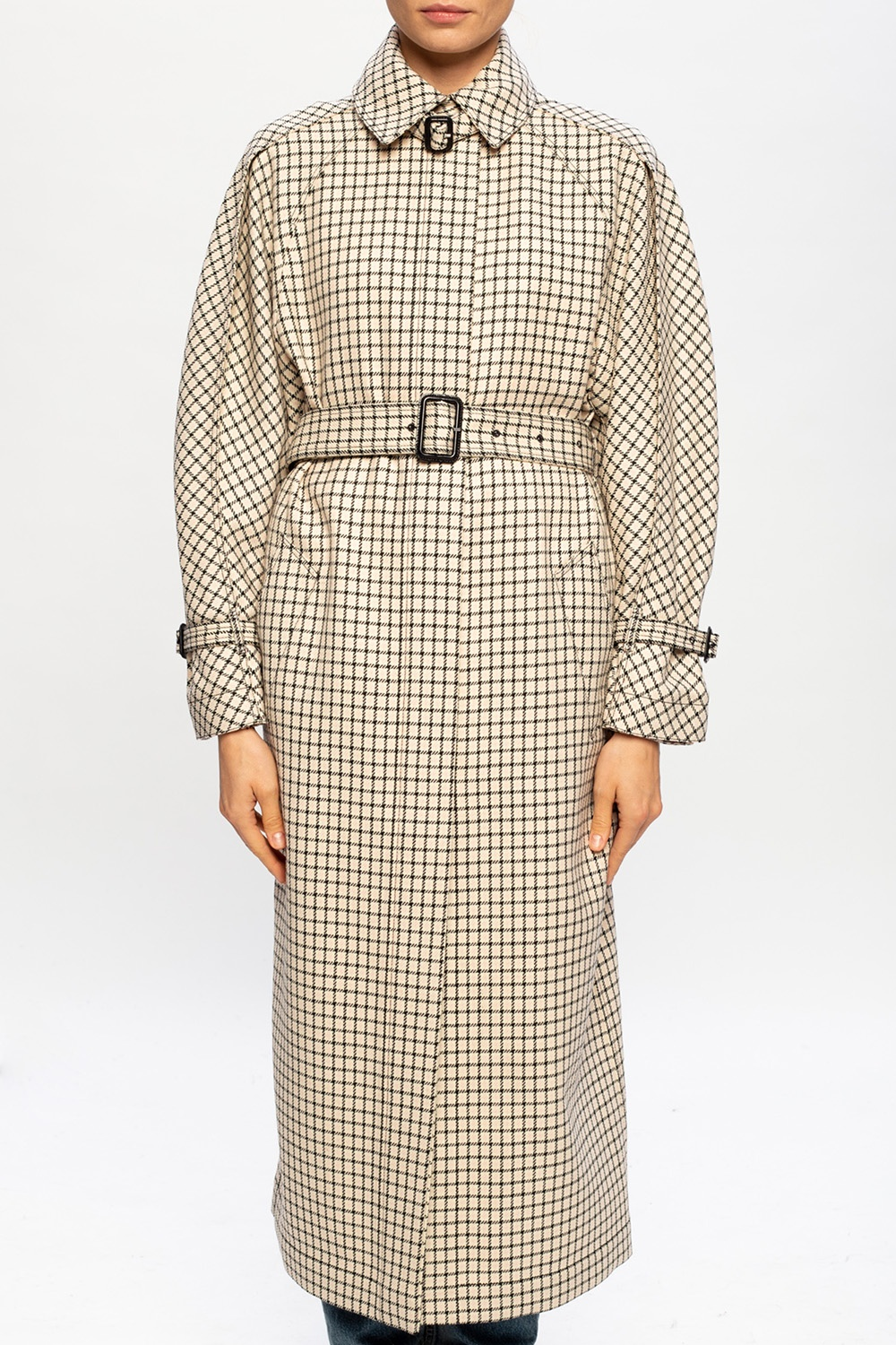 Givenchy Checked wool coat