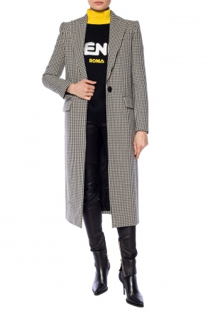 Peak lapel coat od Givenchy