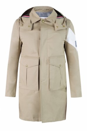 Hooded military jacket od Moncler Gamme Bleu