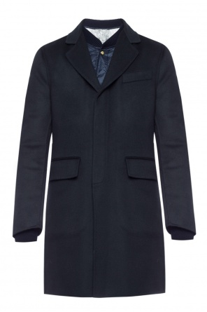 Coat with quilted jacket od Moncler Gamme Bleu