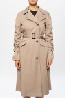 AllSaints 'Cecil' coat with gathers