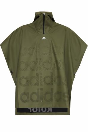 Perforated rain cape od ADIDAS by Kolor