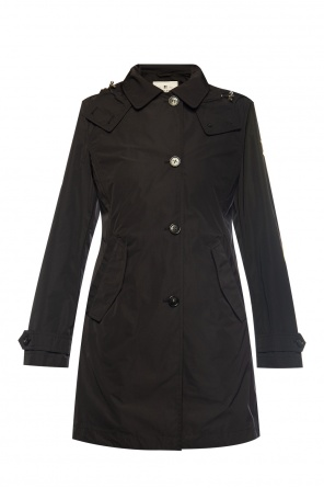 'charlotte' hooded coat od Woolrich