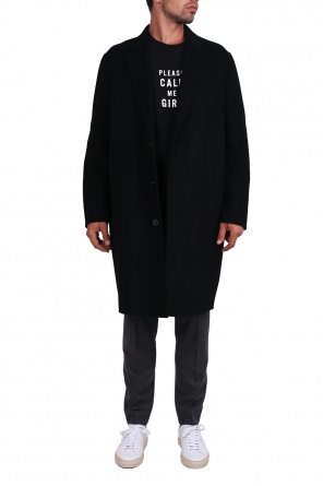 Shawl collar coat od Acne