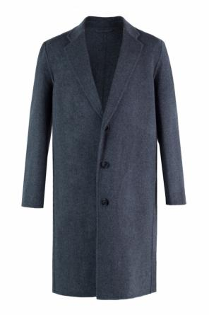 Oversize coat with notch lapels od Acne