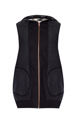Hooded vest od See By Chloe