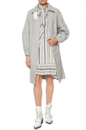 Single-vented wool coat od See By Chloe